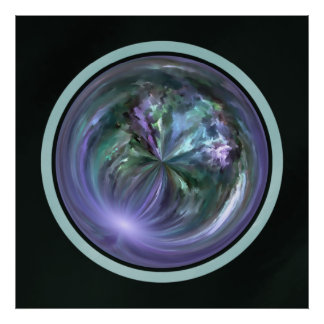 Mandala, Colorful Spring Brush Stroke Abstract Posters