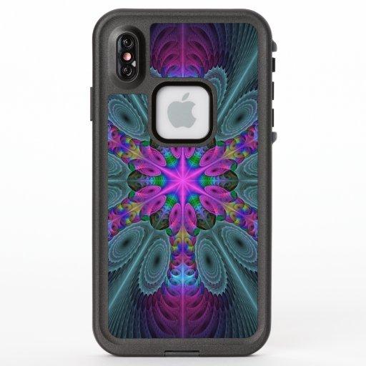 Mandala Colorful Striking Fractal Art Kaleidoscope