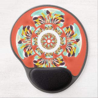 Mandala colorida alfombrilla con gel