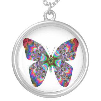Mandala colorida de la mariposa colgantes