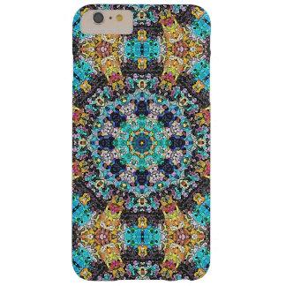 Mandala colorida del Grunge Funda Barely There iPhone 6 Plus