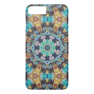 Mandala colorida del Grunge Funda iPhone 7 Plus
