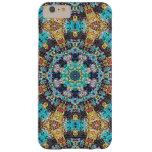 Mandala colorida del Grunge Funda Para iPhone 6 Plus Barely There