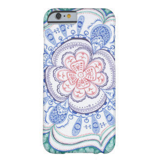 Mandala colorida funda barely there iPhone 6