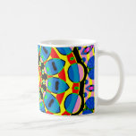 Mandala colorida taza