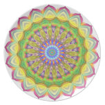 Mandala - complejidad plato para fiesta