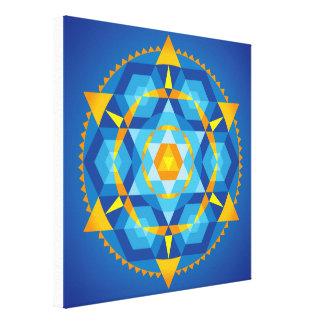 Mandala Comprehension Canvas Print