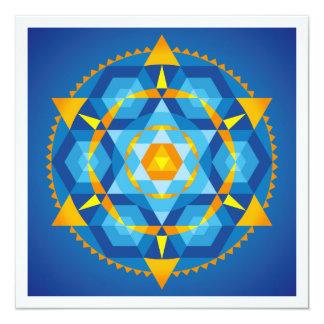 Mandala Comprehension Card
