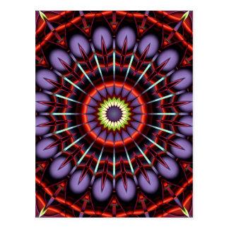 Mandala Conquest Postcard