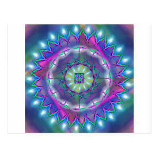 Mandala Cosmic Energy Postcard