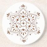 Mandala Coster de la alheña Posavasos Personalizados