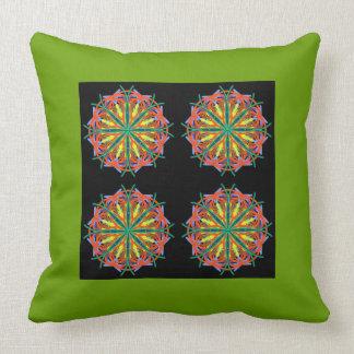 Mandala crazy 1 throw pillow