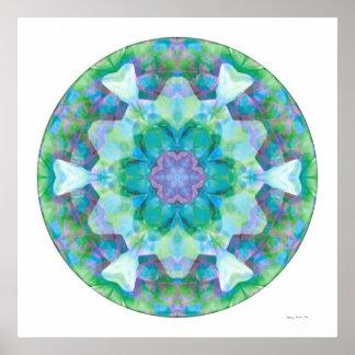 Mandala curativa 10 póster
