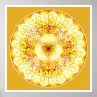 Mandala curativa 1 póster