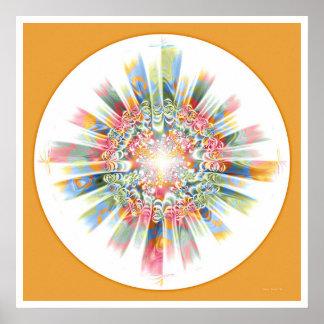 Mandala curativa 2 póster