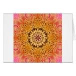 Mandala 'Dahlia' Greeting Card