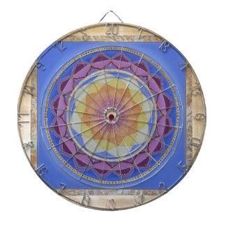 Mandala Dart Board