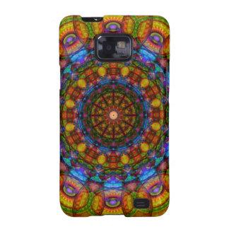 Mandala de 12 ojos samsung galaxy s2 carcasas