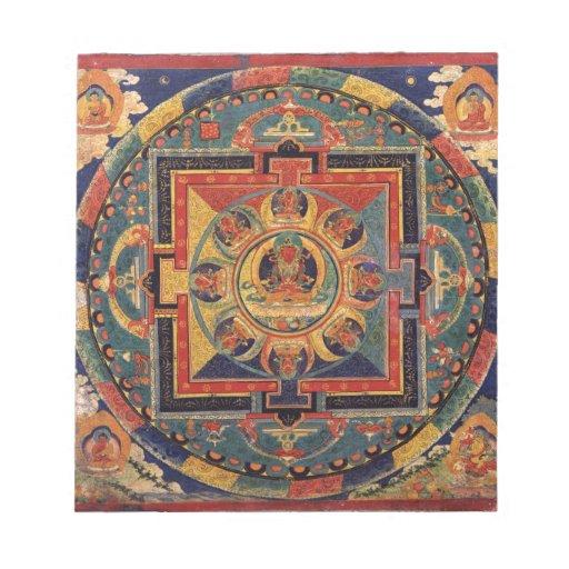 Mandala de Amitayus. Escuela tibetana del siglo XI Blocs De Notas