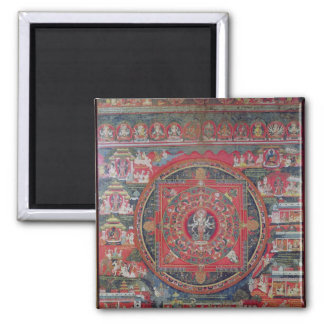 Mandala de Amoghapasa Imán Cuadrado