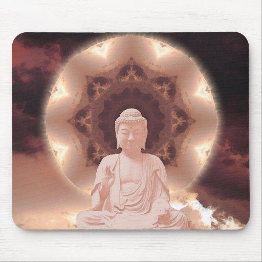 Mandala de Buda Alfombrillas De Ratones