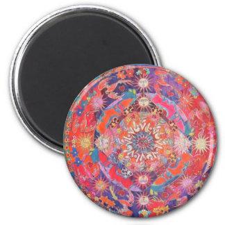 Mandala de California Daz e Imán Redondo 5 Cm