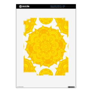 Mandala de Chakra del plexo solar Skins Para eliPad 2