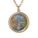 Mandala de cuatro estaciones grimpolas personalizadas
