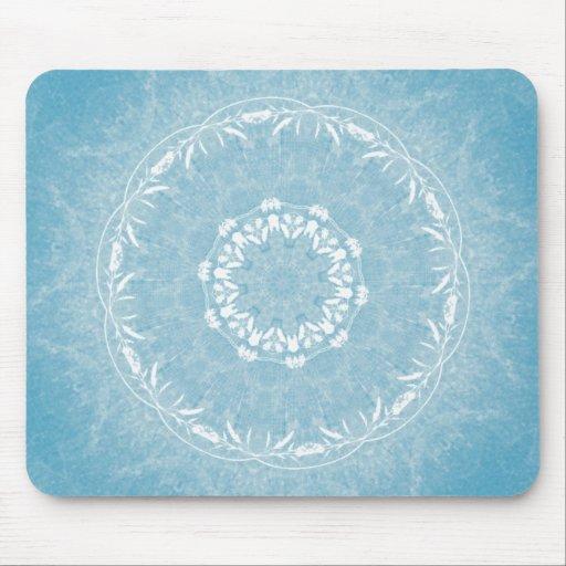 Mandala de encaje Mousepad de las flores Tapete De Raton