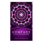 Mandala de hadas de la flor tarjetas de visita