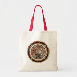 Mandala de Kalachakra Bolsa Tela Barata