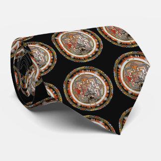 Mandala de Kalachakra Corbata Personalizada