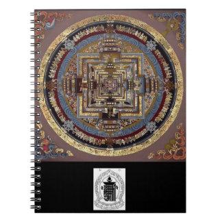 Mandala de Kalachakra un cuaderno