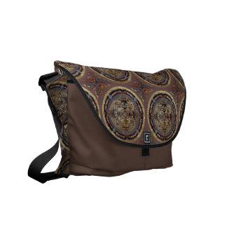 Mandala de Kalachakra una bolsa de mensajero Bolsas De Mensajeria