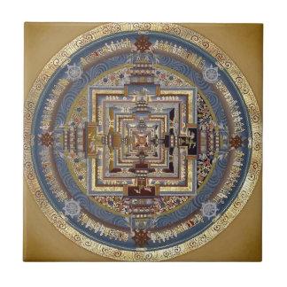 Mandala de Kalachakra una teja