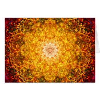 Mandala de la abundancia felicitaciones