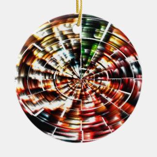 Mandala de la alta energía adorno de navidad