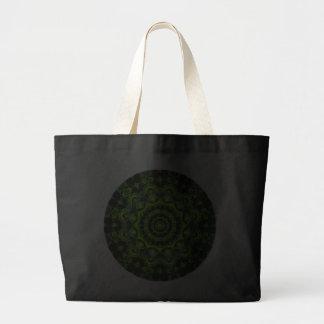 Mandala de la bóveda del bosque, maderas verdes ab bolsas
