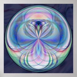 Mandala de la claridad - impresión de las ilustrac impresiones