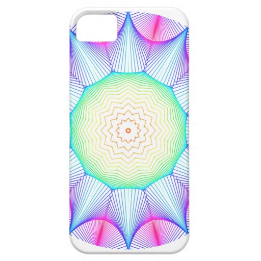 Mandala de la energía del ángel, extracto que bril iPhone 5 cobertura