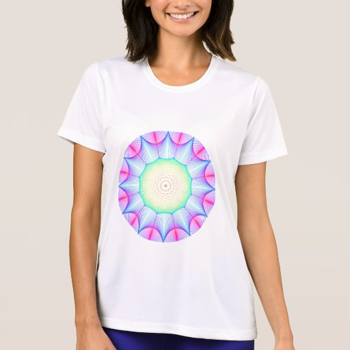 Mandala de la energía del ángel, extracto que camiseta
