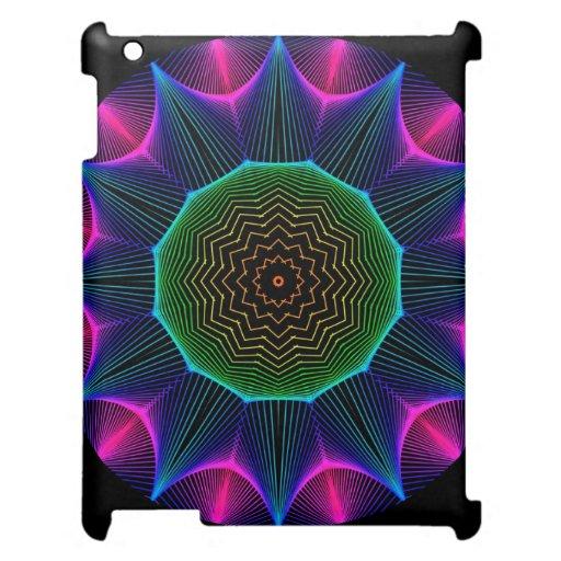 Mandala de la energía del ángel, magenta abstracta