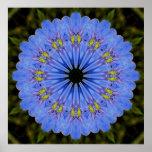 Mandala de la fantasía del lino impresiones