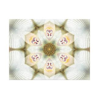 Mandala de la flor de Jackie Impresiones De Lienzo