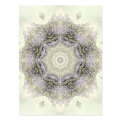 Mandala de la flor postal