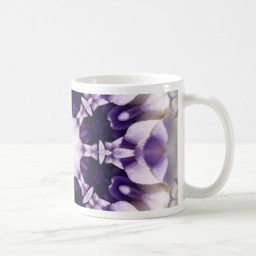 Mandala de la flor taza