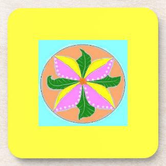 Mandala de la gratitud posavaso