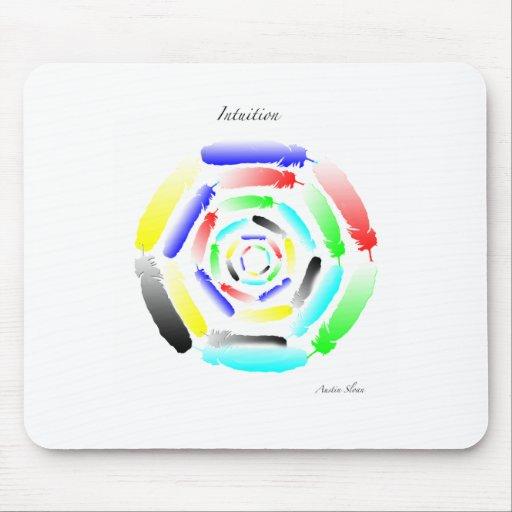 Mandala de la intuición tapetes de ratones