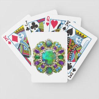 Mandala de la joyería cartas de juego