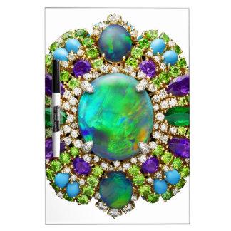 Mandala de la joyería pizarras blancas de calidad